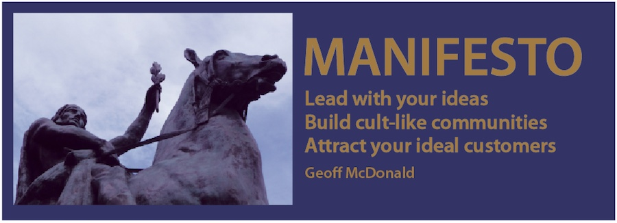 Manifesto by Geoff McDonald