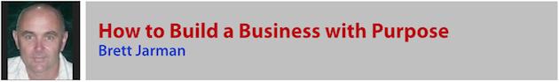 Brett Jarman - Business with Purpose
