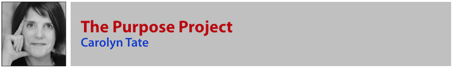 Carolyn Tate - The Purpose Project