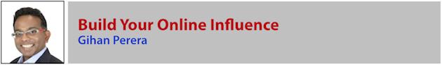 Gihan Perera - Online Influence