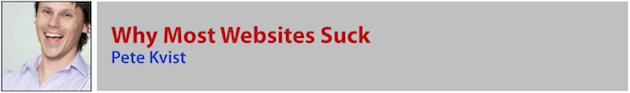 Pete Kvist - Websites