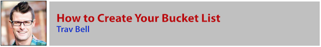 Trav Bell - Bucket List