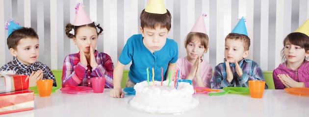 Birthday Party Milestones