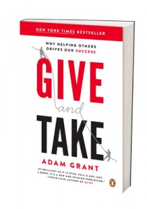 Adam Grant - Give and Take book