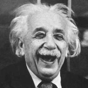 Albert Einstein Laughing