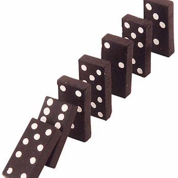 Experience Design - just like dominoes