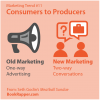Marketing Trend #11 - Consumers to Producers