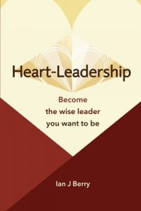 Heart Leadership book cover by Ian Berry