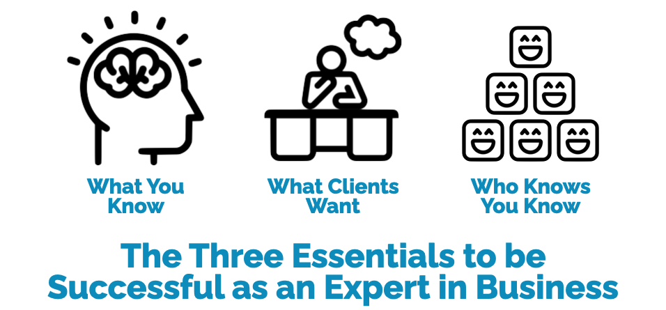 How to be successful as an expert in business