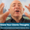 Know Your Clients Thoughts