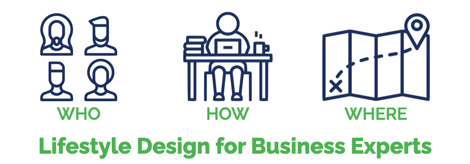 Lifestyle Design for Business Experts: Who, How, Where