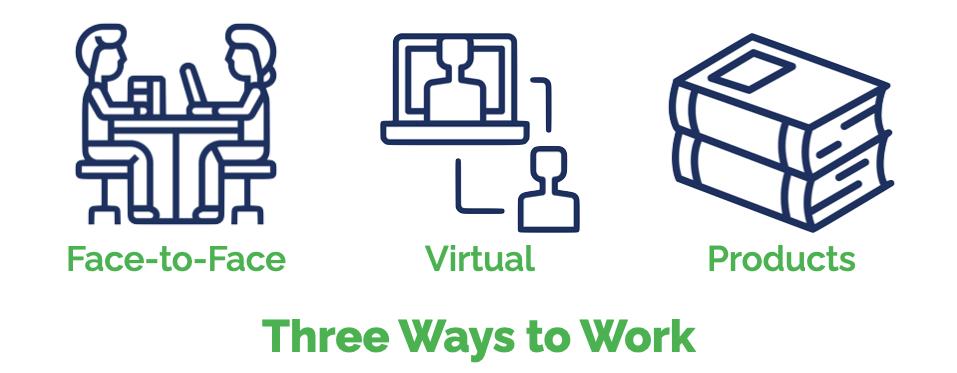 Three Ways to Work