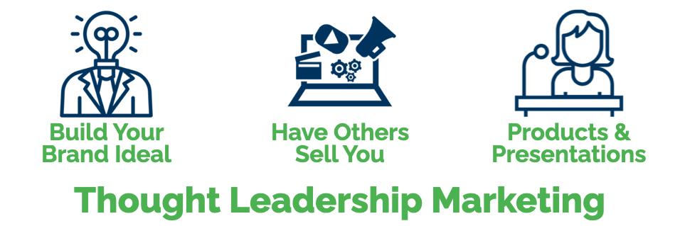Thought Leadership Marketing - Three Strategies